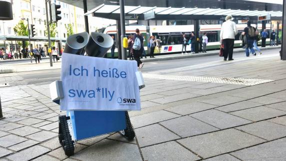 Augsburg: Roboter am Kö heißt jetzt swa*lly