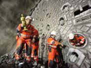 Bildergalerie: Gotthard-Basistunnel: So liefen die Arbeiten an dem Jahrhundertprojekt