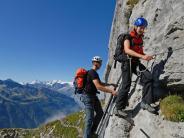 Klettern und Wandern: Besondere Klettersteige und Wanderwege in den Alpen