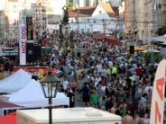 Augsburg: Bilder und Video: Die Sommernächte begeistern Zehntausende