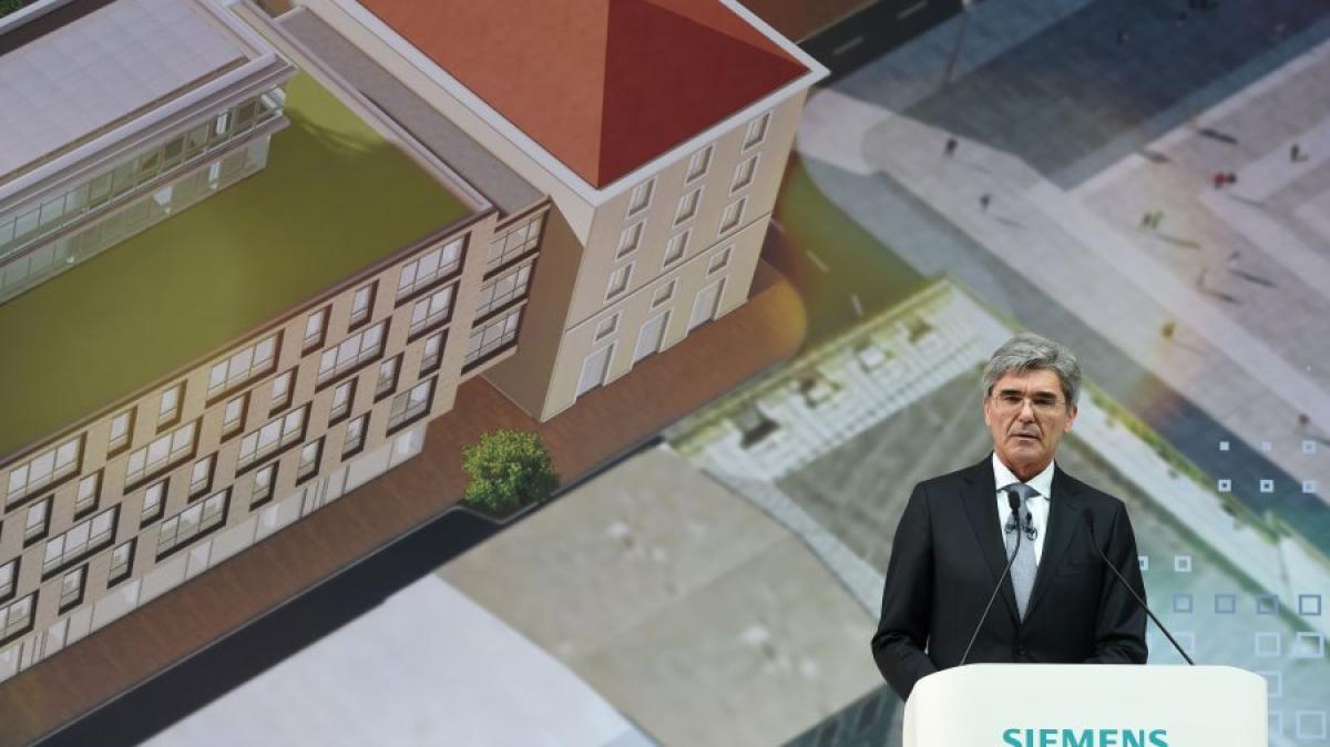 München Kaeser eröffnet neue SiemensZentrale in München  ~ Staubsauger Zentrale München
