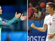 EM 2016: Ronaldo gegen Lewandowski - das Duell der Superstars