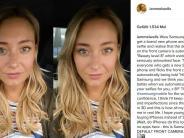 Instagram: Britin ist nach Selfie sauer auf Samsung