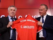 FC Bayern: Ancelottis erster Auftritt