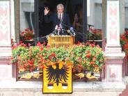 Bildergalerie: Die erste Schwörrede des neuen OB Gunter Czisch
