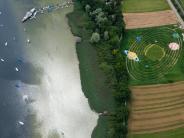Utting am Ammersee: Das Labyrinth am Ammersee lädt wieder zum Verirren ein