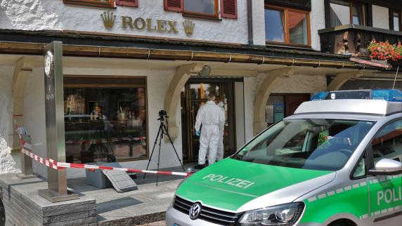 Allgäu: Unbekannte überfallen Juwelier in Oberstaufen - schon wieder