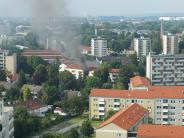 Augsburg: Neun Verletzte bei Brand im Herrenbachviertel