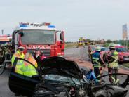 Landkreis Landsberg: 55-Jährige wird bei Unfall schwer verletzt