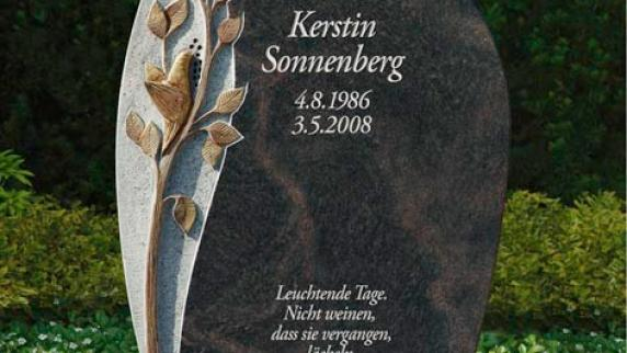 Rat & Hilfe im Trauerfall: Erinnerungen aus Stein