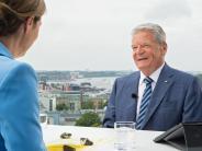 Sommerinterview im ZDF: Joachim Gaucks vermittelnde Worte im Streit mit der Türkei
