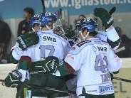 Augsburger Panther: Panther besiegen Nürnberg und holen den Dolomiten-Cup