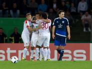 DFB-Pokal: Verdienter, aber glanzloser Sieg des FC Augsburg gegen Ravensburg