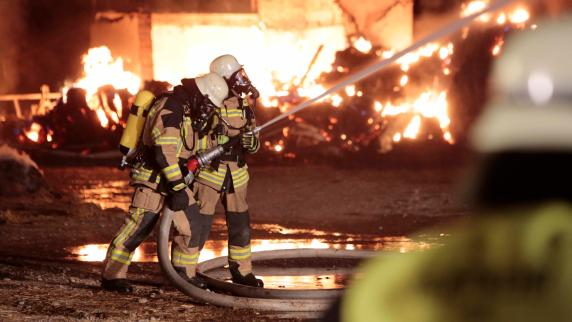 Kreis Landsberg: Brand auf Bauernhof verursacht eine halbe Million Euro Schaden