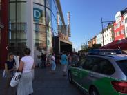 Schweinfurt: Verdächtige Person: Polizei räumt Stadtgalerie in Schweinfurt