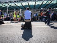 Luftfahrt: Verdächtige Frau: Frankfurter Flughafen-Terminal geräumt