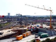 Ulm: Ulmer Tunnel: Auf der ICE-Neubaustrecke geht es voran