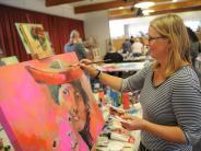 Paffenhofen: Künstler in Aktion
