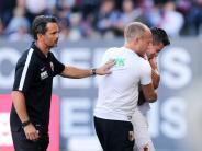 FC Augsburg: Diagnose Bänderverletzung: Bobadilla fehlt mehrere Wochen
