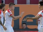 FC Augsburg: Live-Ticker: Finnbogason schießt den FCA zur Führung