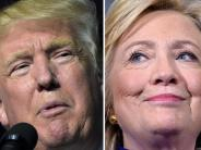 US-Wahlen 2016: Clinton gegen Trump: Was Sie zum ersten TV-Duell wissen müssen