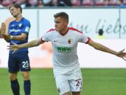 FC Augsburg: FCA hofft auf Rückkehr von Torjäger Finnbogason gegen Freiburg