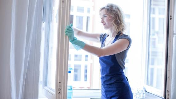 geld leben Hausarbeit als Kalorienkiller Fensterputzen ist am effektivsten id.