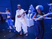 Theater Augsburg: Das Leben ist ein Gyros-Spieß