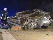 A7 bei Heidenheim: Unbekannter wirft Betonpflasterstein auf A7 - Familie verletzt