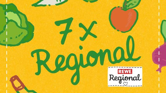 """Anzeige: """"7xregional"""" – Die Aktionswochen von REWE Regional"""