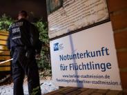 Berlin: Polizisten erschießen Flüchtling bei Messerattacke