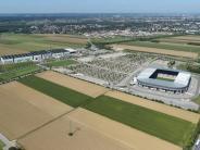 Vorher-Nachher-Fotos: Fotos aus der Luft zeigen: So hat sich Augsburg in elf Jahren verändert