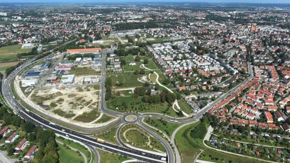 Augsburg: Historische Karten: So wuchs Augsburg von 1817 bis heute