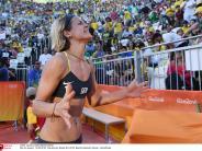 """Beachvolleyball: Laura Ludwig ist """"wertvollste Spielerin"""" des Jahres weltweit"""