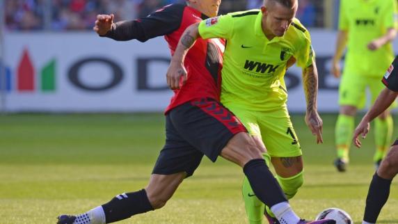FC Augsburg: 2:1 - Niederlage für FC Augsburg in Freiburg
