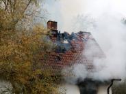 Kreis Günzburg: 57-Jähriger stirbt nach Brand in Wohnhaus