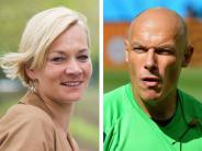 Schiedsrichter-Gespann: Bibiana Steinhaus und Howard Webb sind ein Paar