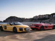 Test: Der neue Audi R8 Spyder: Nichts für Sensibelchen