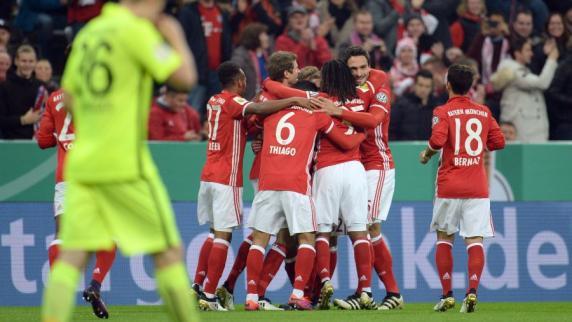 DFB-Pokal: Augsburg scheitert am FC Bayern
