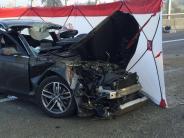 Kreis Augsburg: 53-Jähriger auf A8 lebensgefährlich verletzt - Straße wieder frei