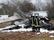 Eifel: Experten: Flugzeugunfall geht auf Pilotenfehler zurück