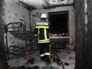 Augsburg: Sechs Verletzte: Kripo ermittelt nach Feuer in Obdachlosenunterkunft