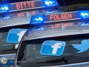 Region: Die Augsburger Polizei ist jetzt bei Facebook und Twitter