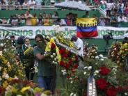 Flugzeugabsturz in Kolumbien: Fußball-Tragödie: Eine geschockte Stadt nimmt Abschied