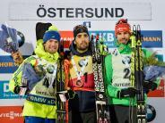Biathlon heute: Biathlon-Weltcup: Ergebnisse beim Herren-Sprint in Östersund