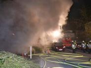 München-Laim: Tiefgarage brennt in München