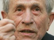 Zeitzeuge: Holocaust-Überlebender Adolf Burger ist tot
