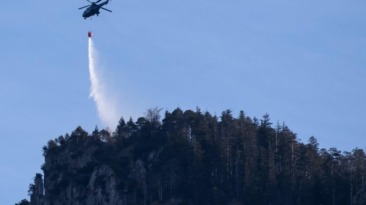 Oberbayern: Großer Waldbrand: Ermittlungen Wegen Fahrlässiger ... Bilder Zu Bad Neu