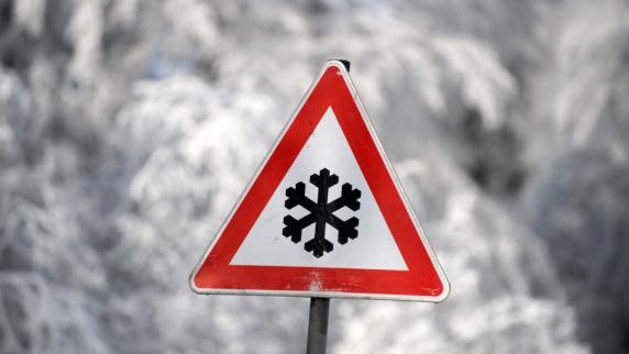 Wetter: Vorsicht auf den Straßen: Wetterdienst warnt vor Glätte