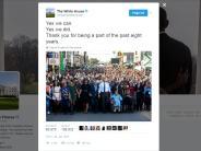 Twitter: Der letzte Tweet aus Obamas Weißem Haus